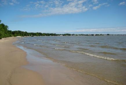 South Beach, Gimli, Manitoba