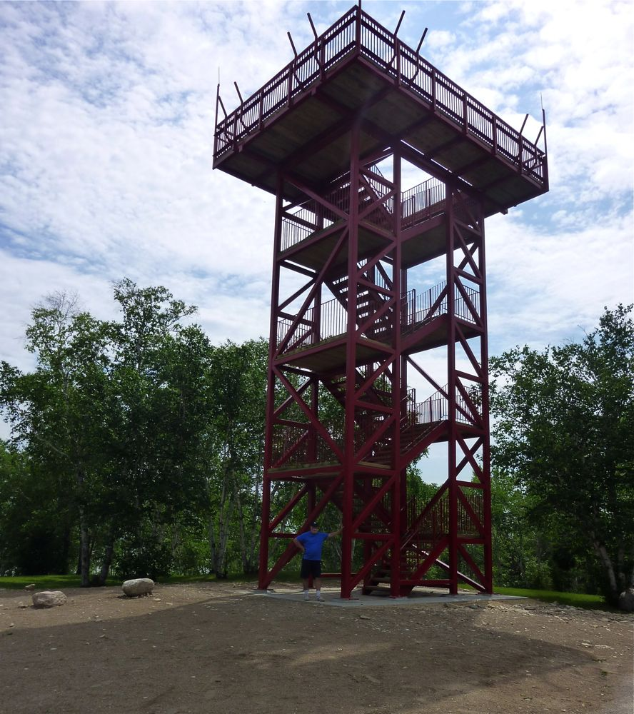 Observation Tower, Hecla Island