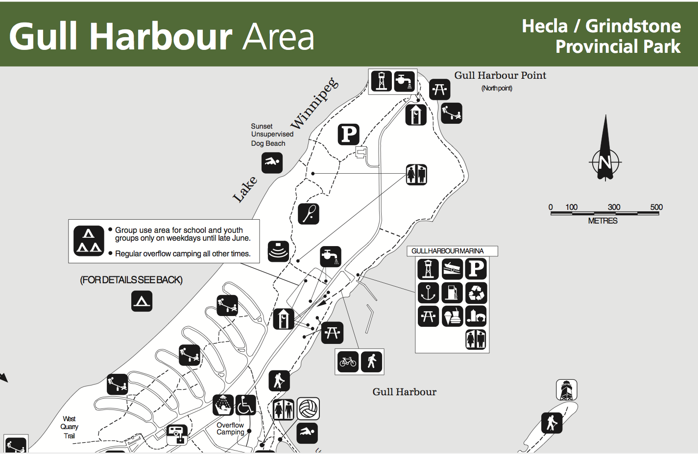 Gull Harbour Area
