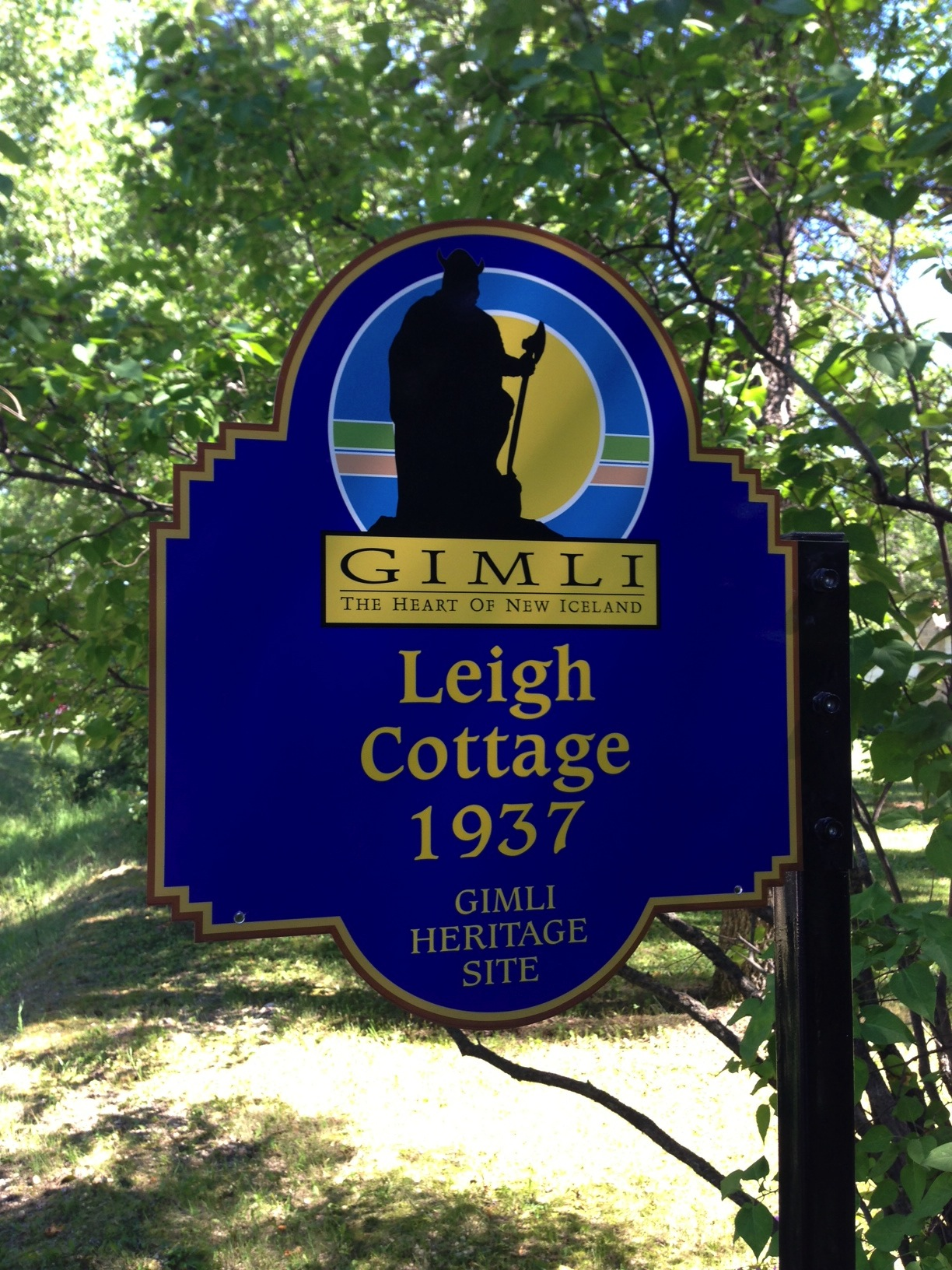 Leigh Cottage 1937 Historical Plaque