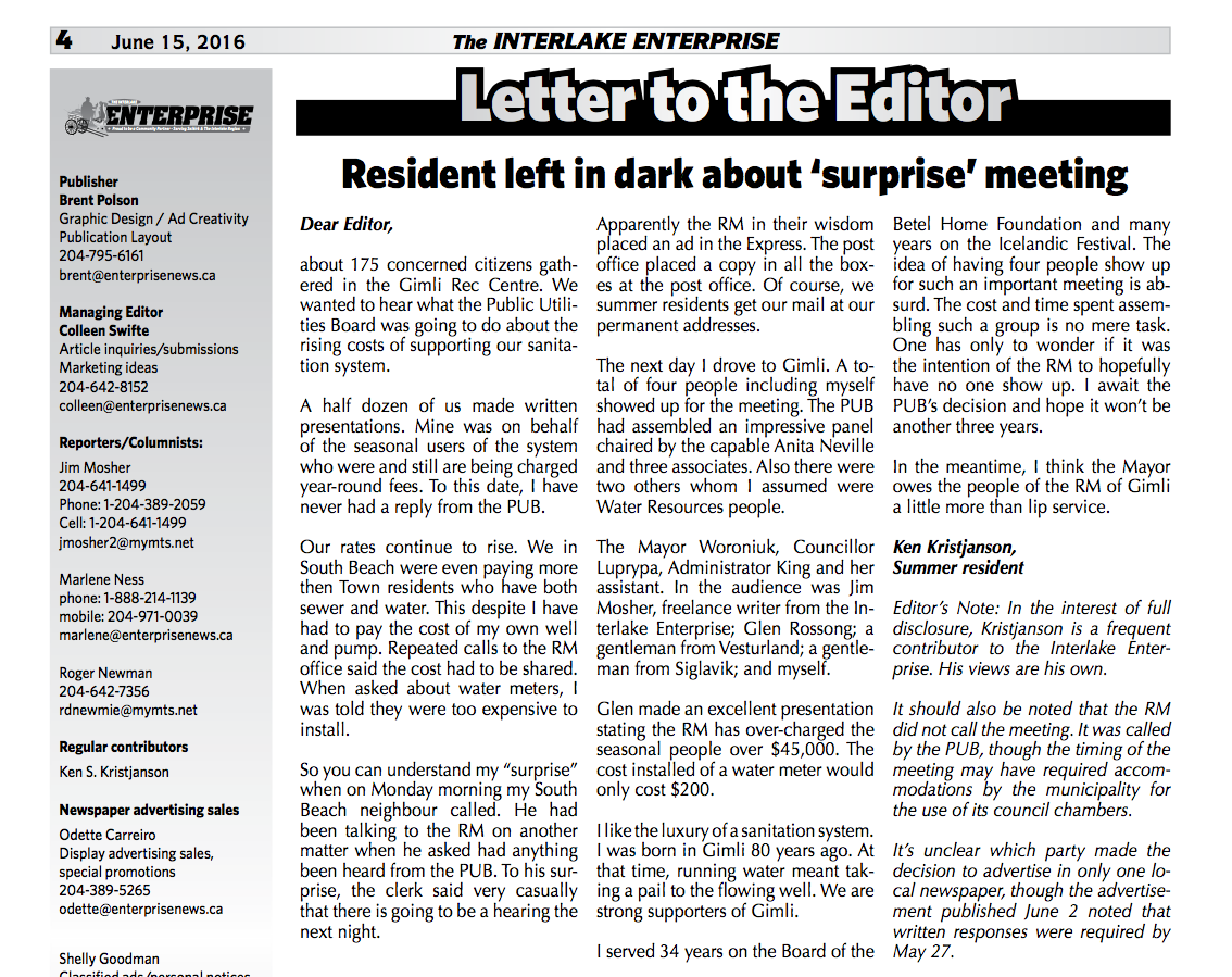 Ltr to the Editor 16-6-15